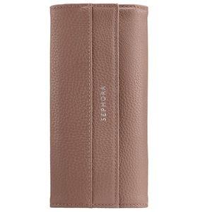 Sephora - rose gold brush travel case